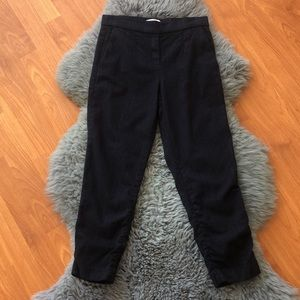 Babaton Atelier Wool/Cashmere Blend Cropped Pant